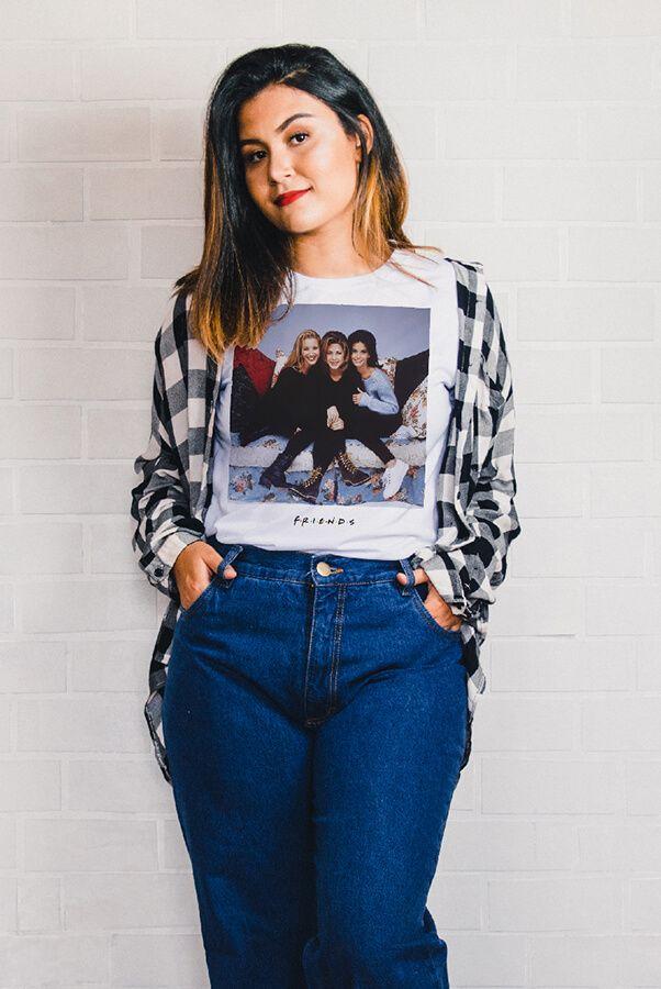Camiseta Girls - Friends  - Doiska
