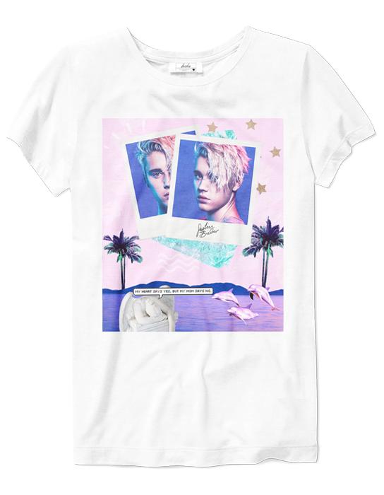 Camiseta Justin Bieber   - Doiska