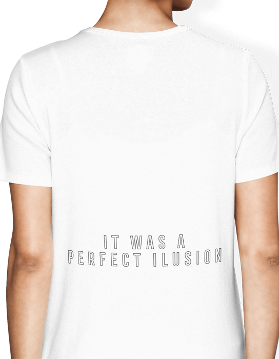 Camiseta Lady Gaga Perfect Illusion  - Doiska