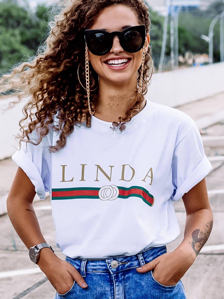 Camiseta Linda   - Doiska