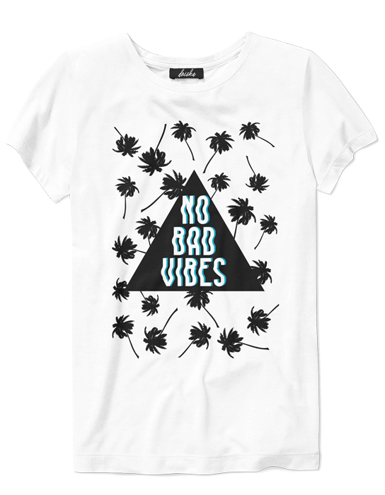 Camiseta No Bad Vibes