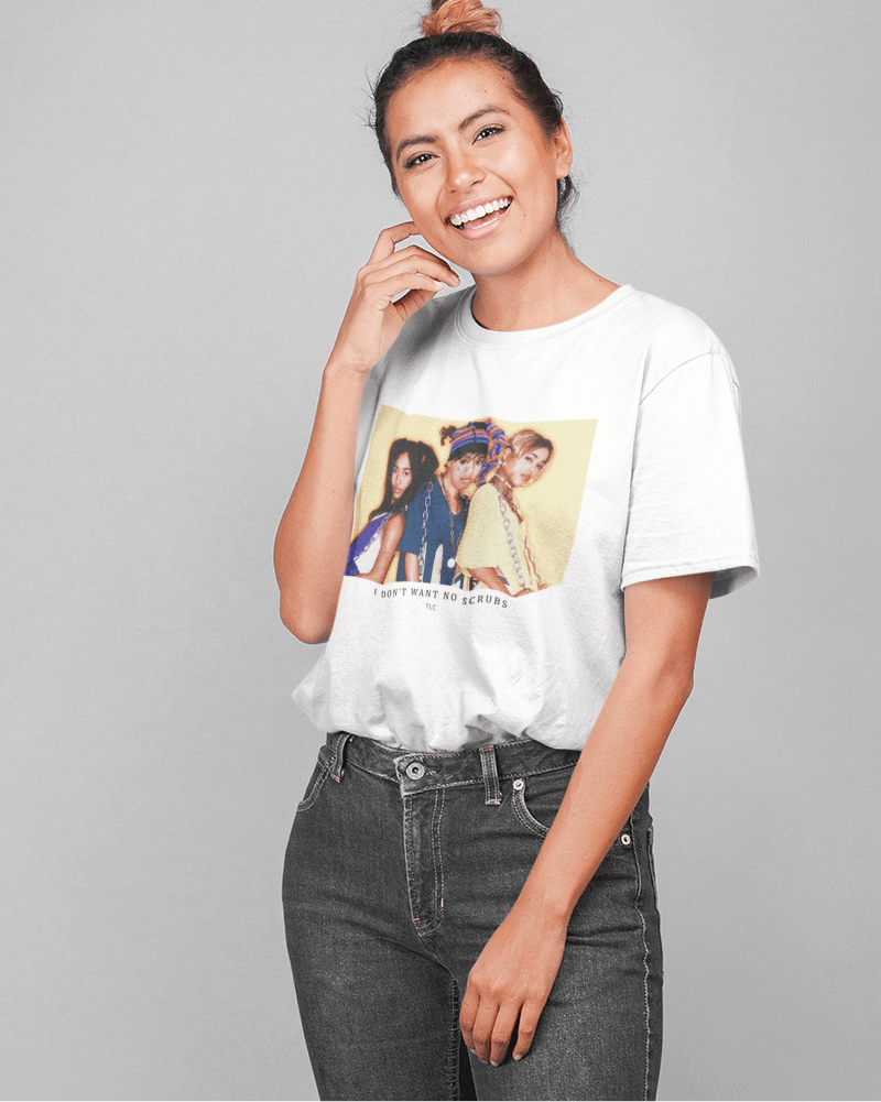 Camiseta  No Scrubs - TLC