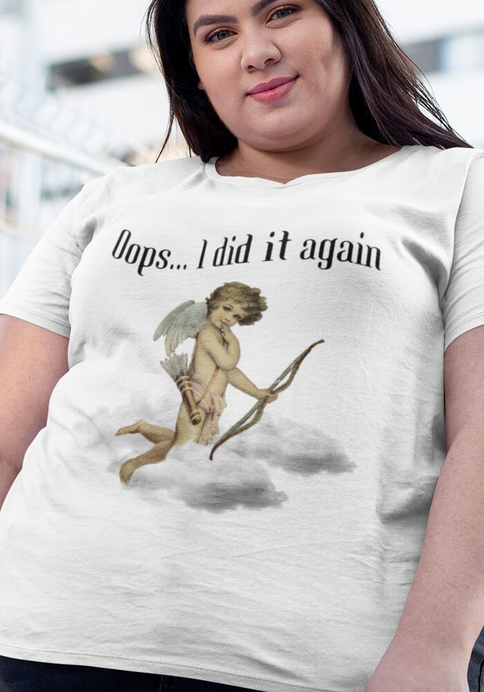 Camiseta Ooops - Plus Size  - Doiska