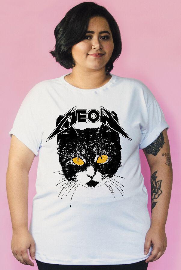 Camiseta PLUS SIZE Meow