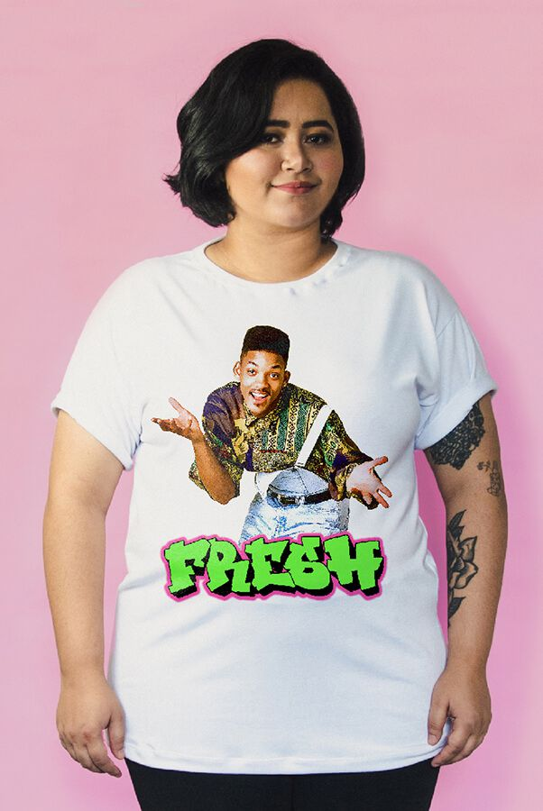 Camiseta PLUS SIZE Will Smith - Fresh  - Doiska