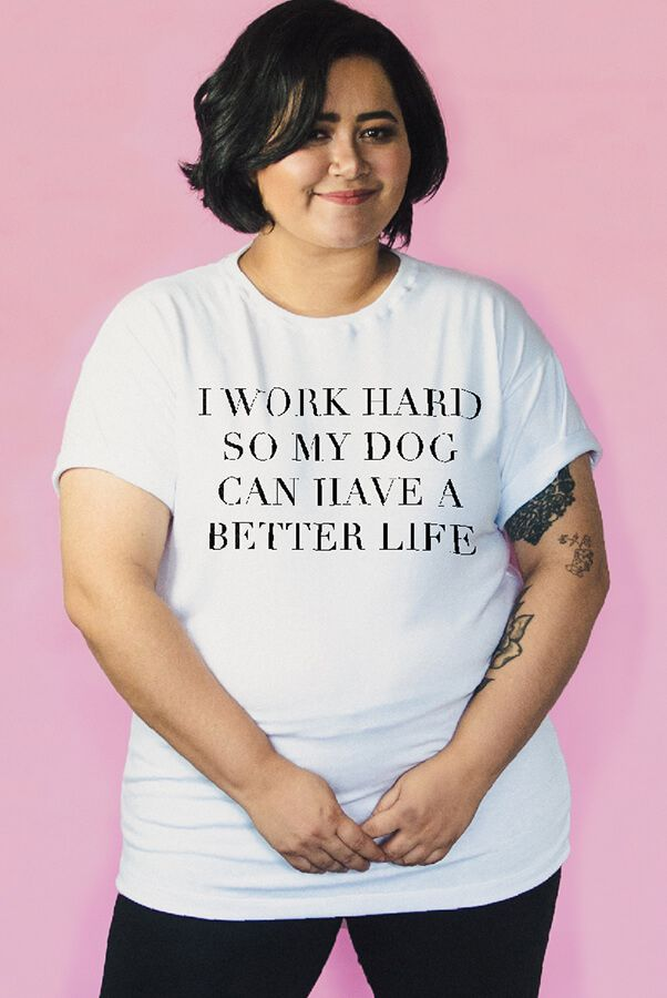 Camiseta PLUS SIZE Work Hard  - Doiska
