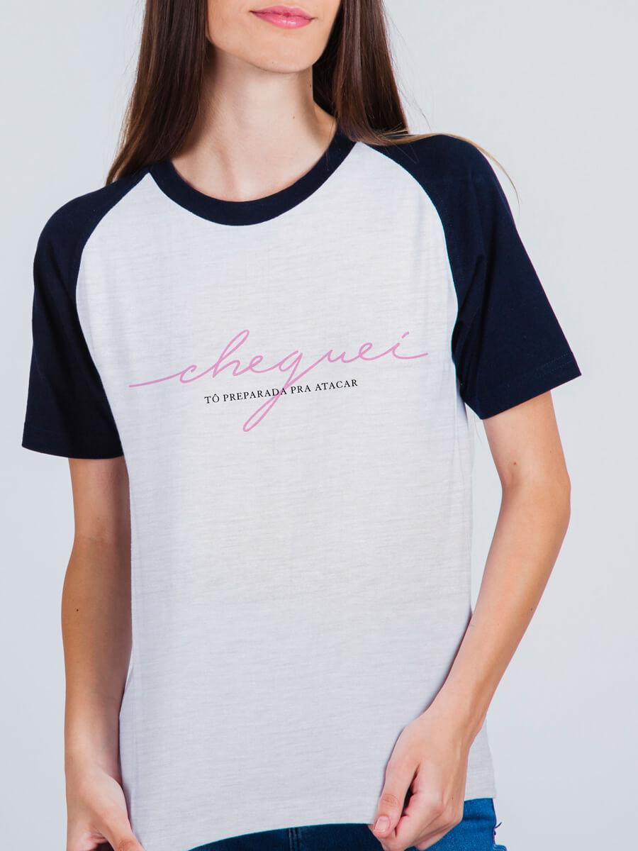 Camiseta Raglan Sua cara