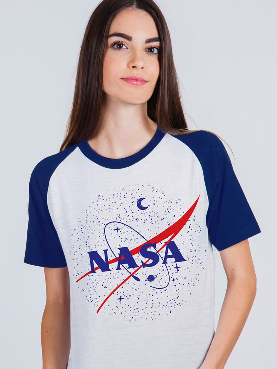 Camiseta Raglan Nasa