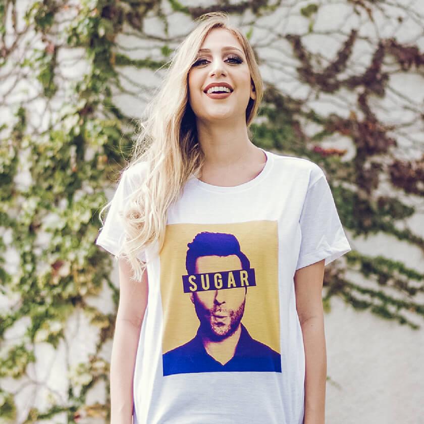 Camiseta Sugar - Maroon 5