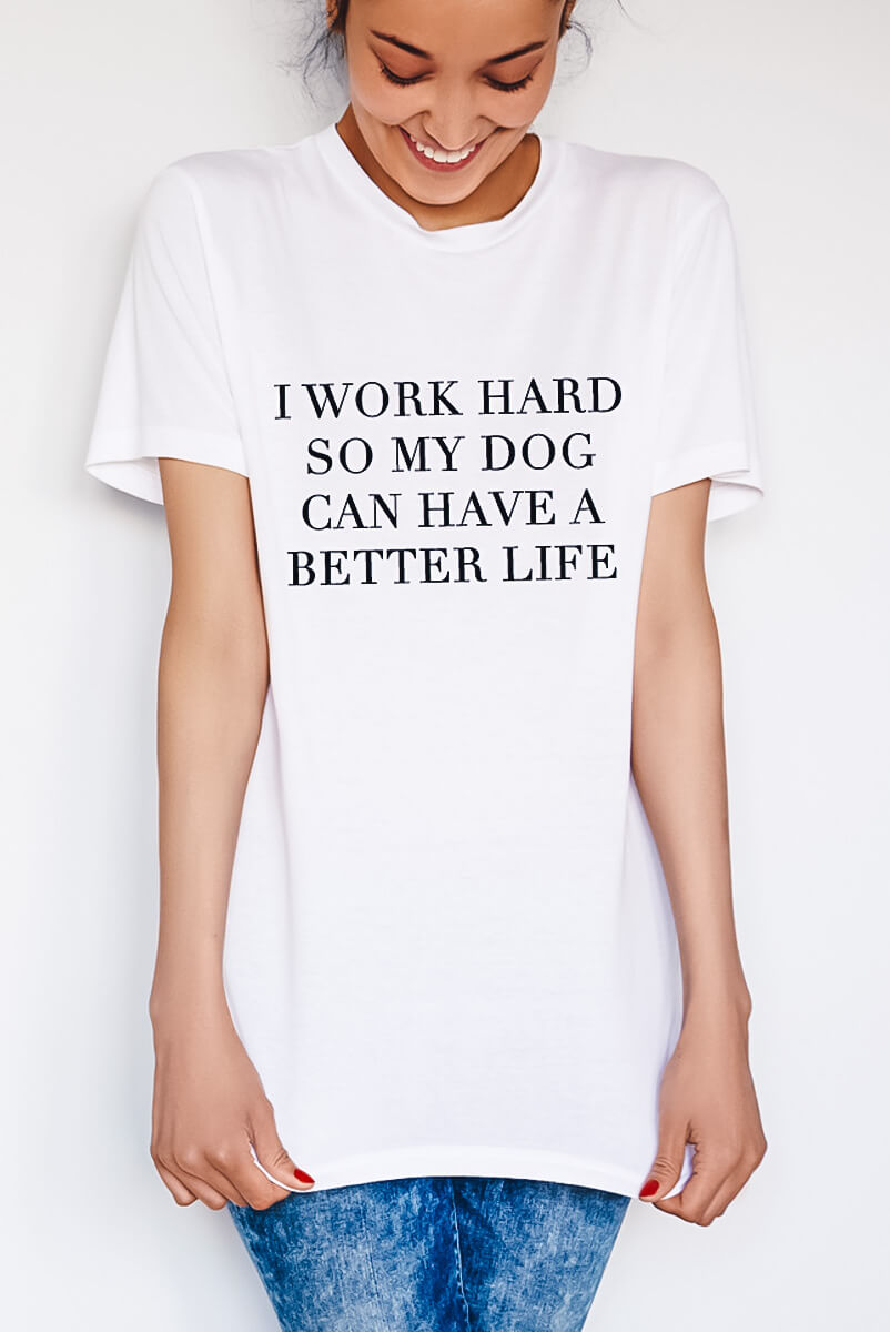 Camiseta Work Hard