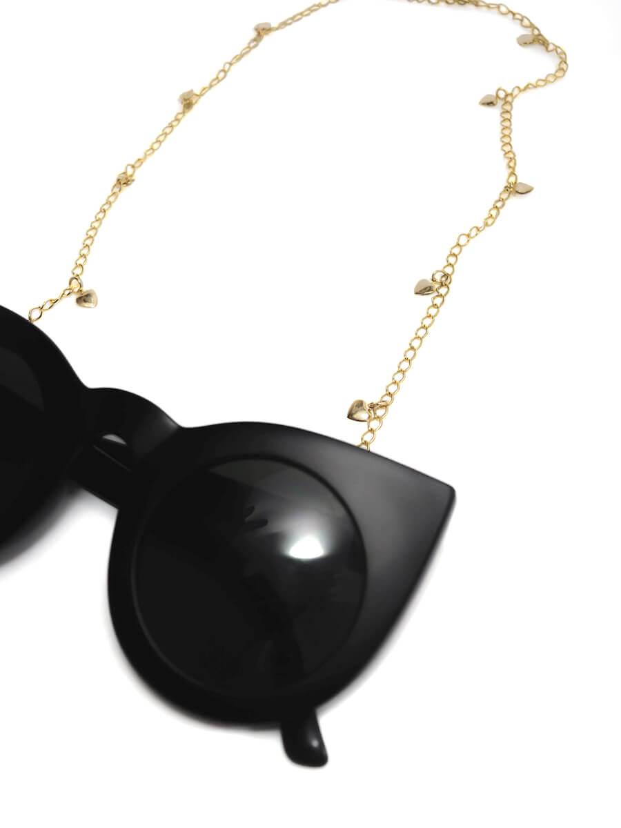 Cordinha Salva Óculos Corações  - Doiska