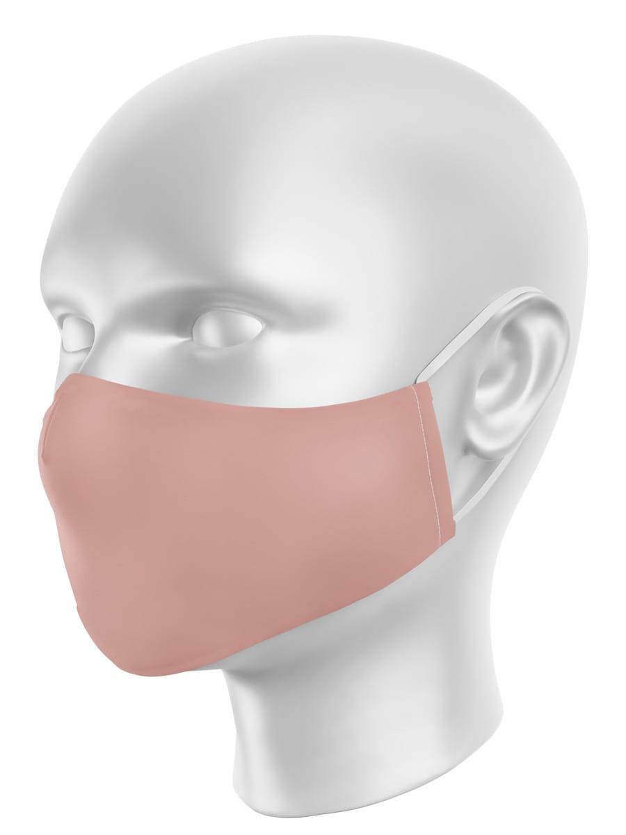 Máscara de Proteção em Tecido - Rosa Seco