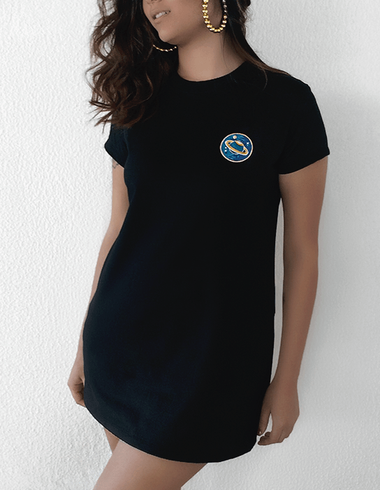 T-shirt Dress Patch Planeta