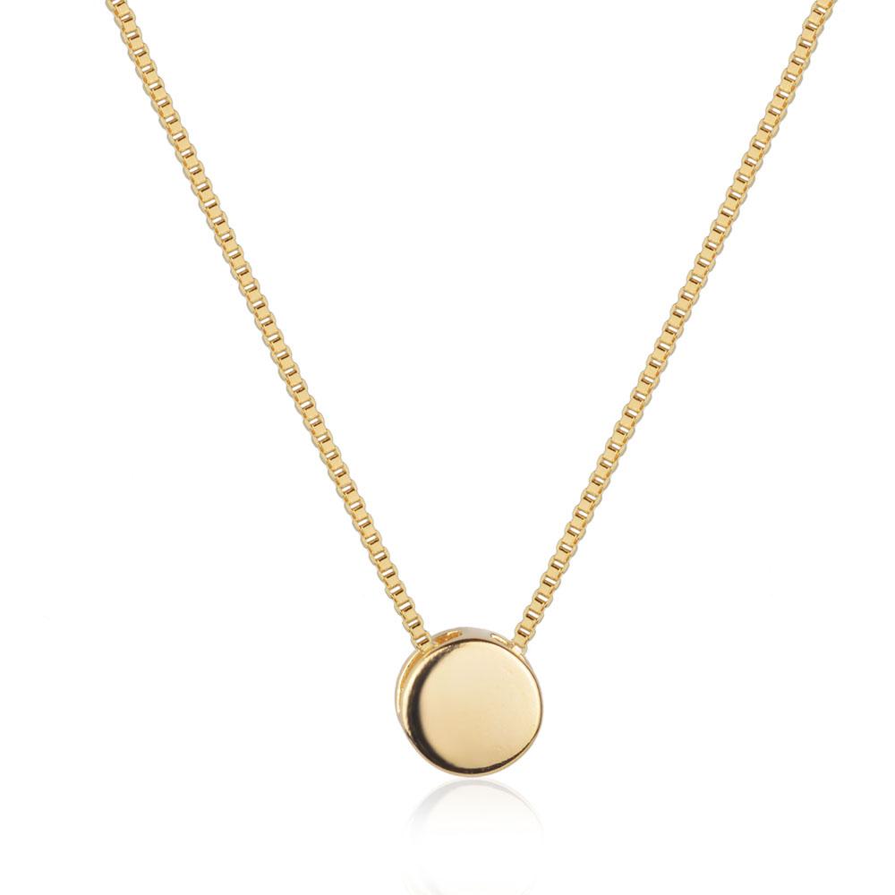 Compre o Mix de colares olho grego dourado com 5% de desconto