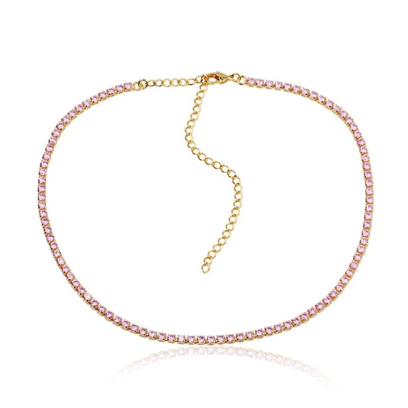 Mix de colares delicado e romântico
