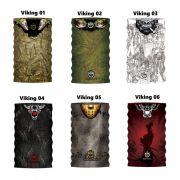 Bandana de Proteção Solar King Brasil Viking - Várias Estampas