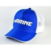 Boné Marine Sports Americano Pescador Azul