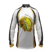 Camisa New Fish 06 Monster 3X Dourado - Nova Coleção