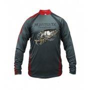 Camisa New Fish 04 Monster 3X Robalo - Nova Coleção