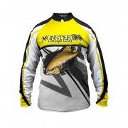 Camisa New Fish 02 Monster 3X Tambaqui - Nova Coleção