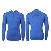 Camiseta Cardume Fisherman Com Proteção Uva/Uvb 50+ Fps (Azul ou Areia)