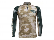 Camiseta King Sublimada Camuflada Army (KFF301)