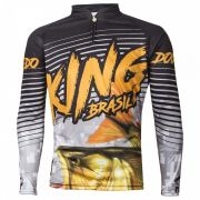 Camiseta King Sublimada Viking 03 Dourado