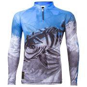 Camiseta King Sublimada Viking 06 Tucunaré Azul