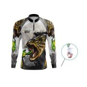 Camiseta Mar Negro Fishing Traira