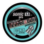 Chumbinho Technogun Sonic Pro 5.5mm (Lata c/ 250 un)
