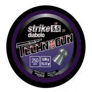 Chumbinho Technogun Strike Diabolo 5.5mm (Lata c/ 250 un)