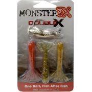 Isca Double-X Monster 3x - Tam.P (9,5cm - 12grs)
