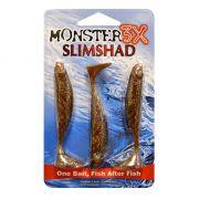Isca Slimshad da Monster3X 3.7 polegadas