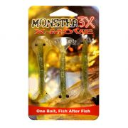 Isca X-Move Monster3X Tamanho 07cm