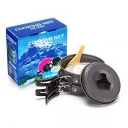 Kit Panelas Camping Outdoor DS-200