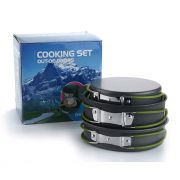 Kit Panelas Camping Outdoor DS-301