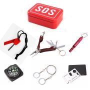 Kit Sobrevivência e Emergência SOS