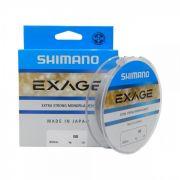 Linha Monofilamento Shimano Exage (0,25mm - 12,12lb) 300mt