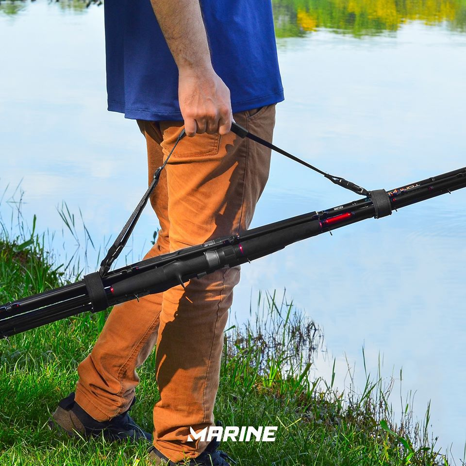 Alça p/ Transporte de Varas Ajustável Marine Sports  - Comprando & Pescando