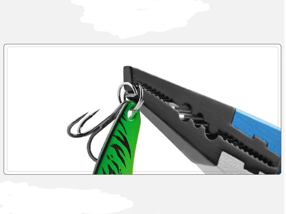 Alicate de Aluminio para Pesca com bico troca garateia  - Comprando & Pescando