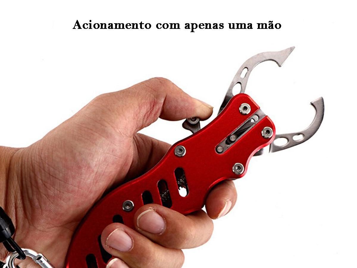 Alicate Pega Peixe (Boga Grip) em Alumínio DH-7163  - Comprando & Pescando
