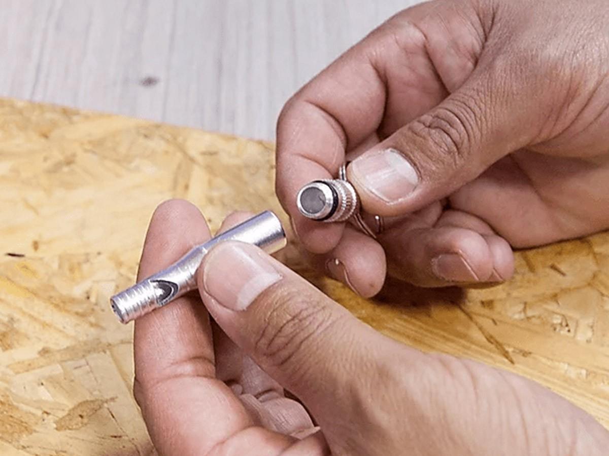 Apito de sobrevivência Survivor Azteq de alumínio  - Comprando & Pescando