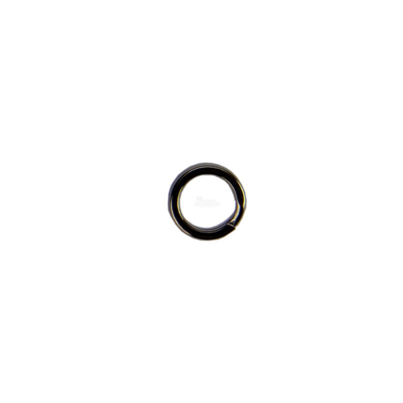 Argola Split Ring Celta Reforçado - Nickel CT1014  - Comprando & Pescando