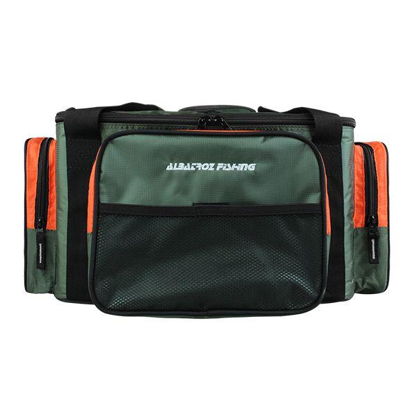 Bolsa Albatroz AF16-0111 com 4 estojos  - Comprando & Pescando
