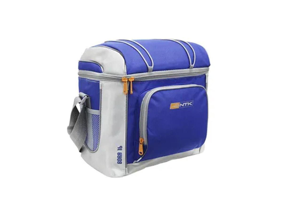 Bolsa Cooler Bora 16 Latas Nautika Azul  - Comprando & Pescando