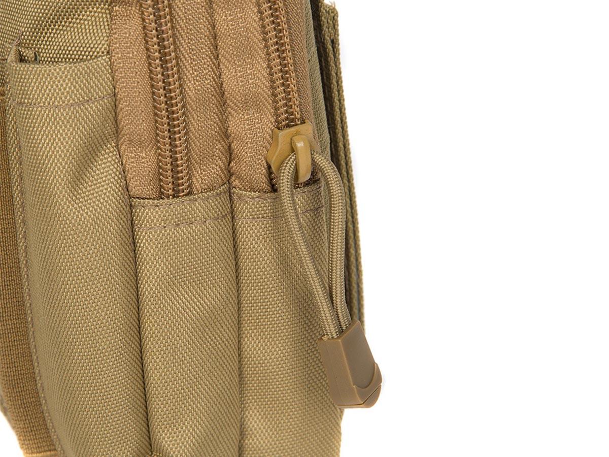 Bolsa Tática Cintura Multiuso Pequena  - Comprando & Pescando