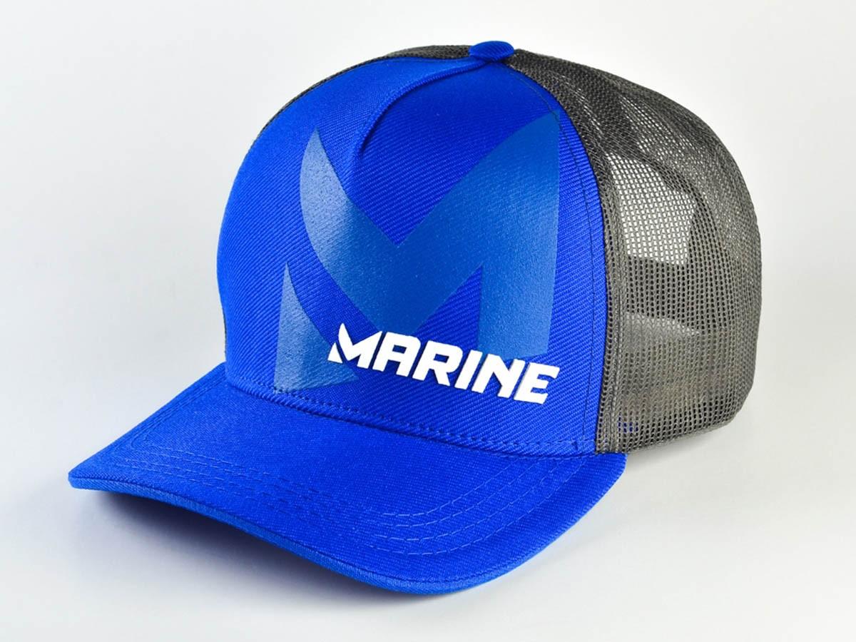 Boné Marine Sports Americano Azul  - Comprando & Pescando