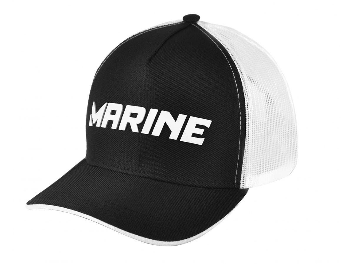 Boné Marine Sports Americano Pescador Preto  - Comprando & Pescando