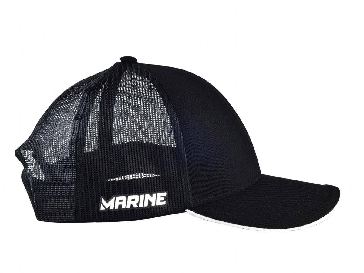 Boné Marine Sports Premium Preto  - Comprando & Pescando