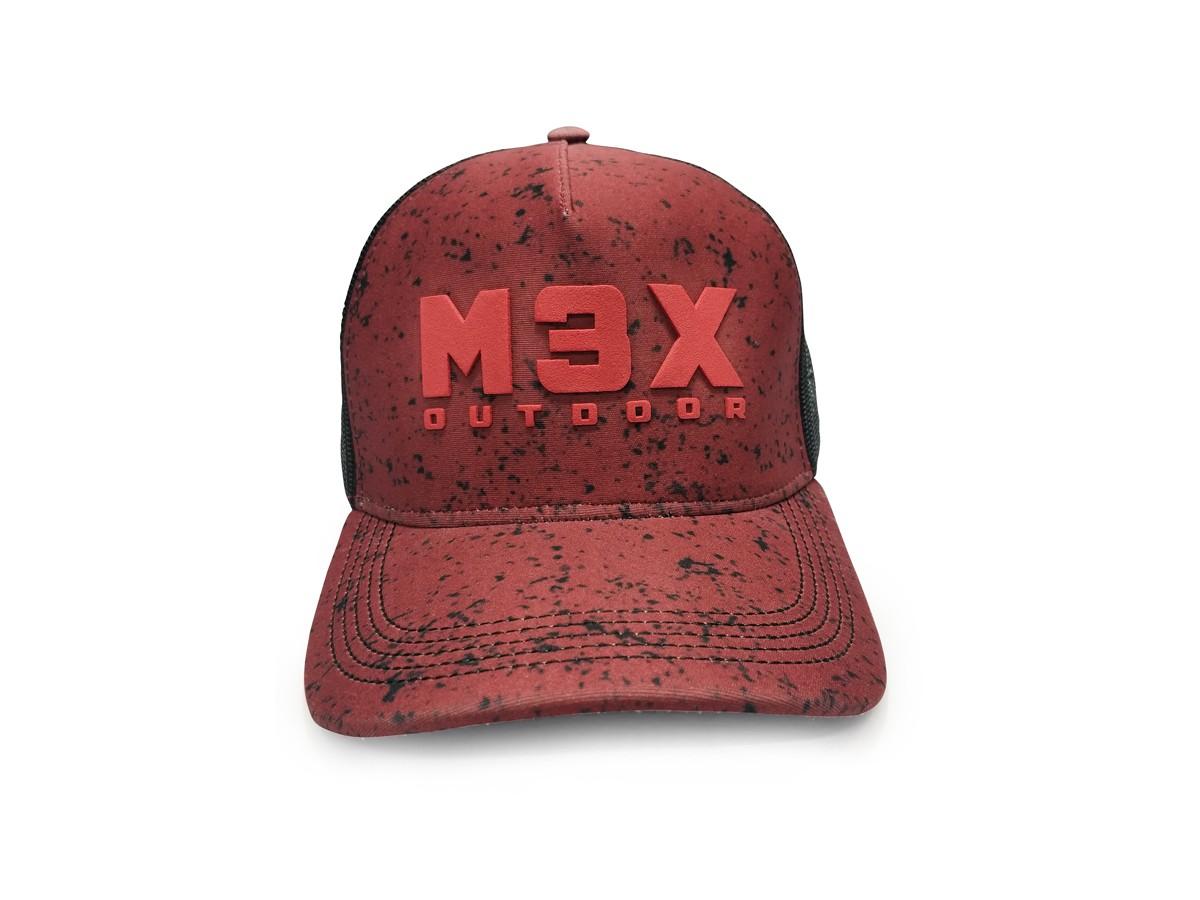 Boné Monster 3X Outdoor Ultra Red  - Comprando & Pescando